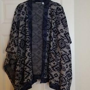 Denim & Co Sweater Wrap
